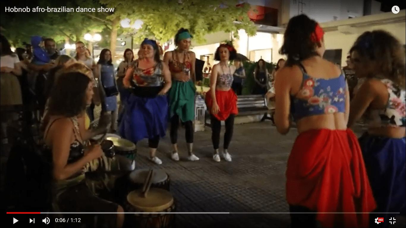 Hobnob afro-brazilian dance show