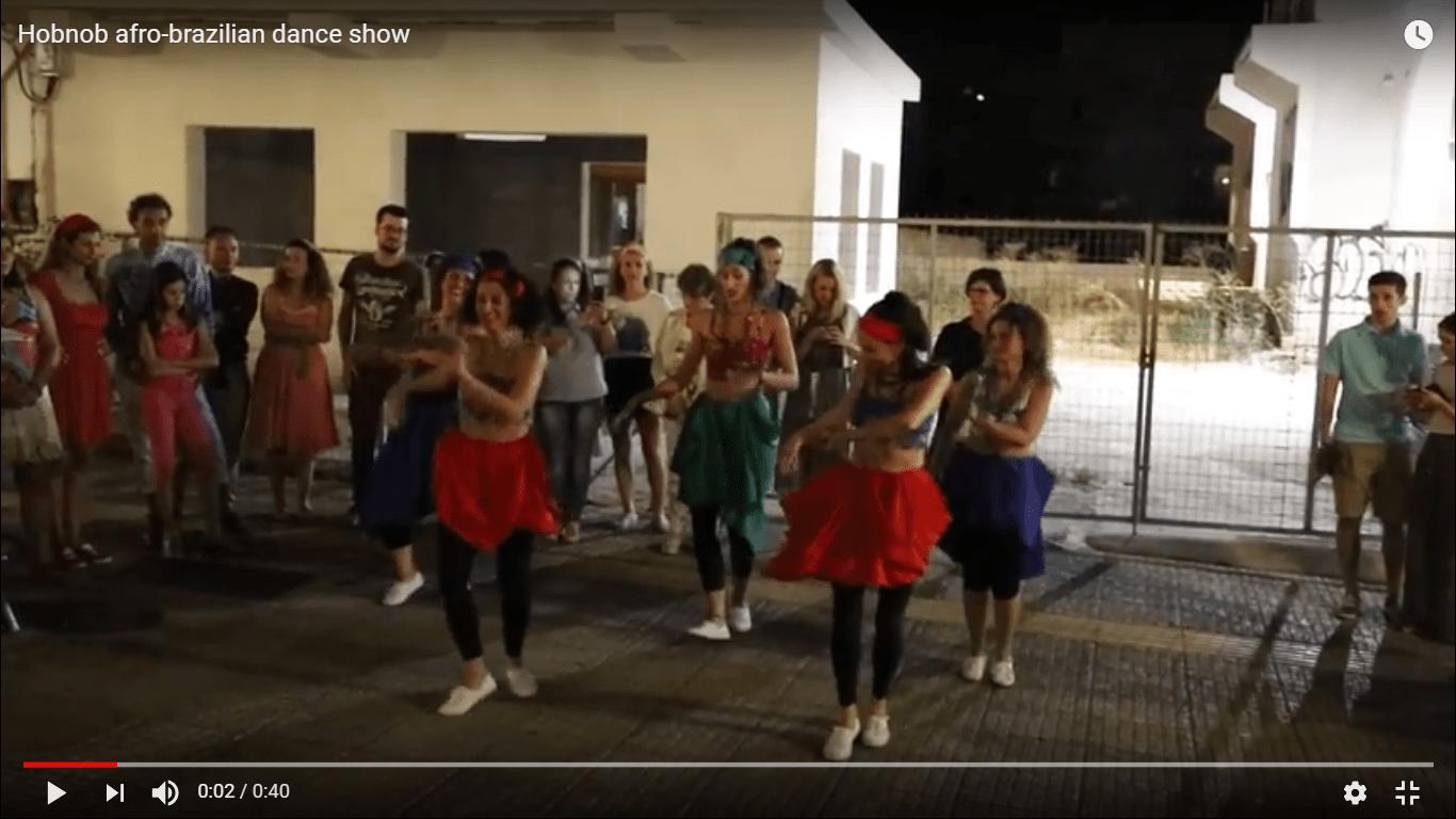 Hobnob afro-brazilian dance show2