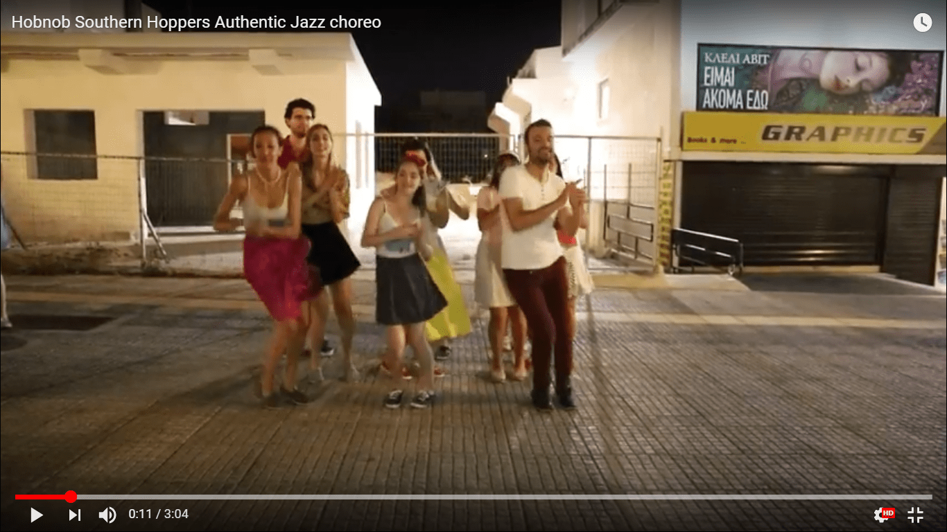 Hobnob Southern Hoppers Authentic Jazz choreo