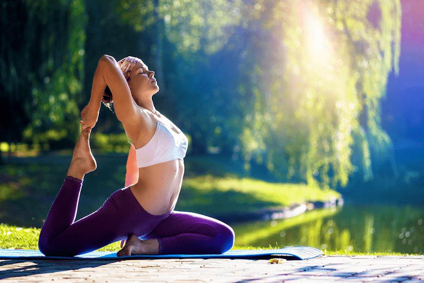 Pre-office yoga
