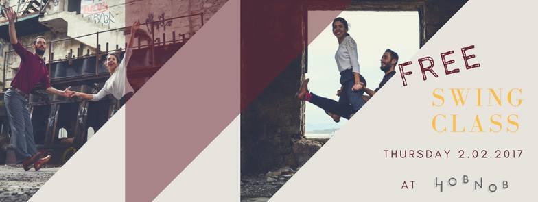 Δωρεάν δοκιμαστικό μάθημα Swing στο Hobnob